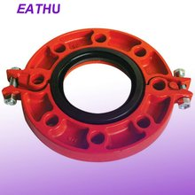 UL and FM Certificates Ductile Iron Grooved Flange