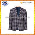 La costumbre de lino con estilo blazer/hombres chaqueta de diseño