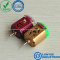 de baja velocidad para juguete eléctrico de corriente continua micro motor eléctrico