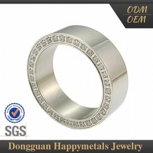Fashionable Design 18Kg Ring Jewelry With Sgs Certification