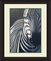 Abstract Africa animal Oil painting zebra for home wall Decoration