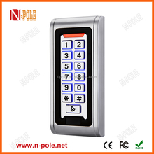 13.56mhz Metal Case standalone access control with waterproof IP68