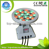55W Round shape outdoor led wall washer light