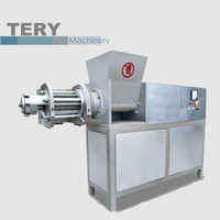 Chicken meat frozen food machine meat deboning machine for salami making