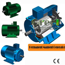 Brushless DC permanent magnet generator