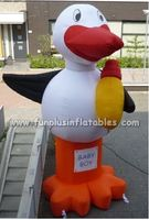 good performance inflatable duck balloon for event advertising inflatable duck P5020(2)