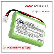 China Supplier Un Passed Nimh Battery 3.6V 700Mah ATM Machine Battery NiMH Shenzhen Supplier Atm Machine Battery