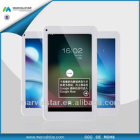 China OEM Customized Logo 7inch Tablet Pcs with flashlight Android 4.2 with Dual Core RK3026/ RAM1GB+ROM8GB/1024*600pixel