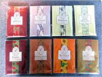 20g novel design vermiculite aroma paper sachet with plastic hanger for promotions