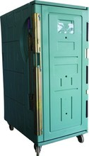 KJB-900L Insulated Transportation Cabinet with wheels; Large Volume Display Insulated Cabinet