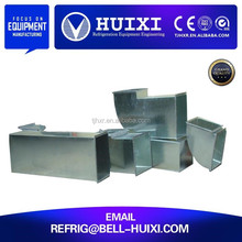 Varieties of galvanized stainless steel ventilation duct
