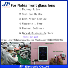 Factory price High quality outer glass cover For Nokia N97 digitizer touch screen front glass lens