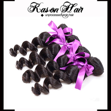 Qingdao Kason Hair New Arrival Cheap Loose Wave Janet Indian Remy Hair Can Be Dyed