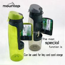 750ml plastic drinking/storage wallet water bottle, sports water bottle, factory manufacturing