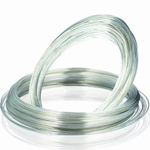 solid 99.99 Ag wire for electrical contact with ISO9001 approved
