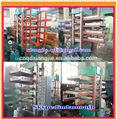 Telha de borracha reciclada de cura pressador/borracha tijolo que faz a máquina/vulcanizada de borracha telha máquina