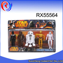 Wholesale star wars action figures toy plastic toy soldiers