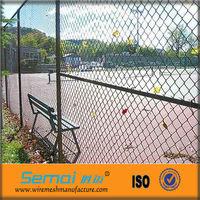 Galvanzied Iron Wire Mesh Chain Link Playground Fence (ISO9001)
