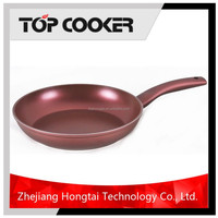 As seen on tv fry pan with color nonstick coating