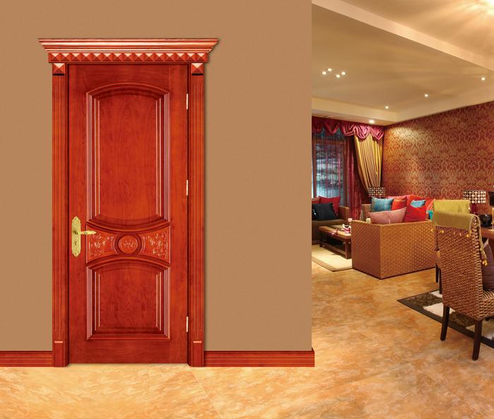 La entrada principal de madera puerta de dise o precio for Puertas metalicas para habitaciones