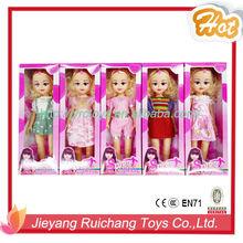 """Vendita calda 18"""" ragazza bambola, nuovo disegno del bambino bambola"""