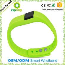 Intelligent watch fitness health sport intellig power rubber smart bracelet bluetooth