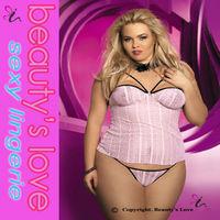 2014 hot sale babydoll for fat women sexy sleepwear plus size babydoll nighties