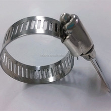 stainless steel butterfly types of hose clamps