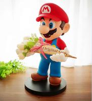 Custom make Super Mario Brothers Mario Figure 12cm,custom pvc toy super mario brother figures