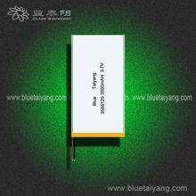 tablet pc 3500mah battery pack , China laptop battery cell price ,flat lithium battery