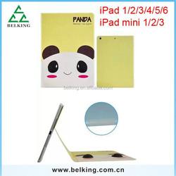 For iPad Mini Cartoon Leather Case, Smart Flip Leather Case for iPad mini, PU Case for iPad mini