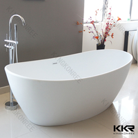 pedestal hot tubs/stone tub bathroom design