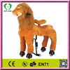 Promotional funny stuffed walking horse,ride on horse toy