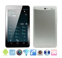 2013 latest MTK6577 7 inch tablet pc 3g sim card slot dual sim 1024*600