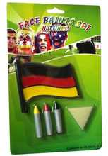 2016 Euro world cup football ODM face paint face oil painting
