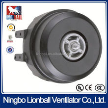 YJ9-C12 UL approval cast iron single feet electric single phase unit bearing motor