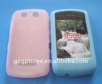 plane design silicon gel phone cases for Blackbery 9500