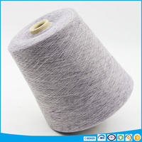 French linen material blended poluester eco friendly linen yarn