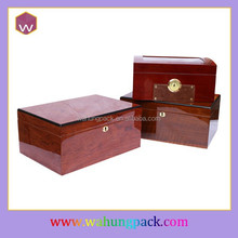 High glossy painting cigar boxes for sale wood cigar box