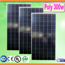 High quality A grade poly 300 watt solar panel/poly solar pane 300w factory direct sale