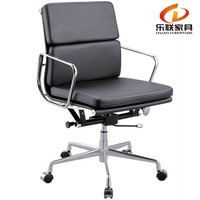 New style office acrylic swivel chair/ribbed office chair/Aluminum Office chair L-80B
