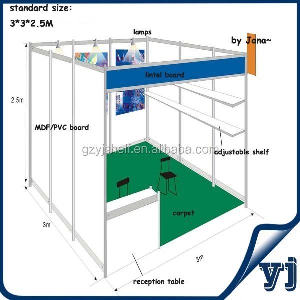 Standard Exhibition Booth Size : Alibaba manufacturer directory suppliers manufacturers