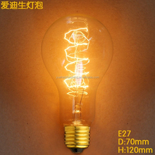 HOT sale A21 Edison style incandescent bulbs retro light