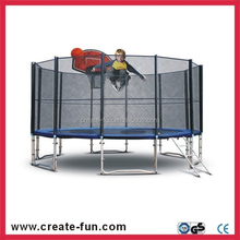 CreateFun Round Trampoline and Safety Enclosure with Spring Cover Pads