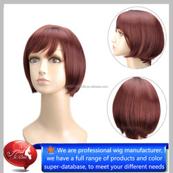 hairstyles short style grey hair wig, The Bright Colors Synthetic Wigs Look Natural And Manageable, Machine Made Wig