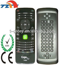 air mouse double key 2.4g remote control with ce iso