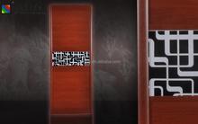 Diseño personalizado dormitorio armario sencilla puerta del armario