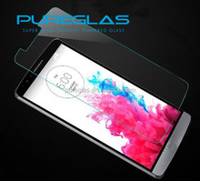For Best quality washable dustproof anti-broken cell phone For LG screen protector tempered glass