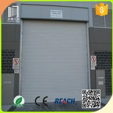 cheap interior folding doors of rolling shutter aluminum door in fuyang