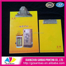 Hot Sales Professional Printing Colourful Clipboard Hardware With Your Logo